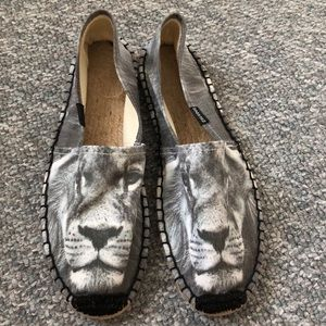We are Handsome x Soludos lion espadrilles shoes 9